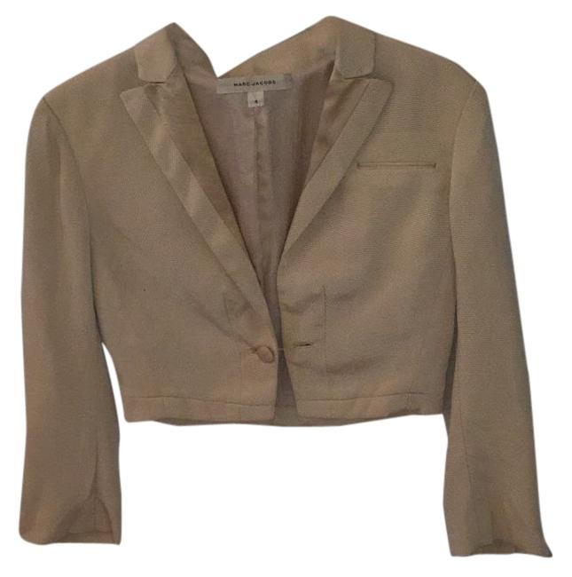 Preload https://item2.tradesy.com/images/marc-jacobs-nude-blazer-size-4-s-15703006-0-1.jpg?width=400&height=650