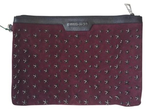 Jimmy Choo Burgundy Clutch