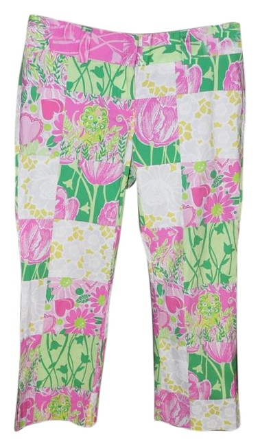 Preload https://item3.tradesy.com/images/lilly-pulitzer-pink-derby-patch-capris-size-0-xs-25-15703342-0-1.jpg?width=400&height=650