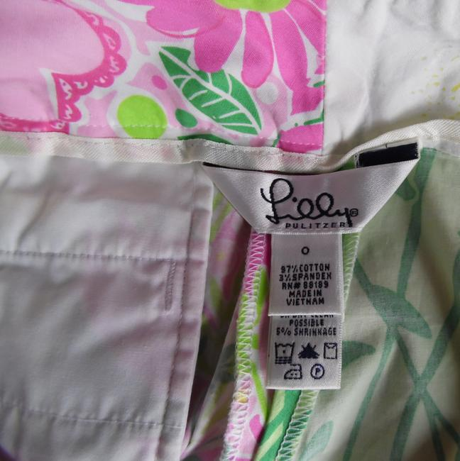 Lilly Pulitzer Derby Patch Capris pink