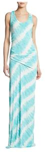 Turquoise Maxi Dress by Young Fabulous & Broke