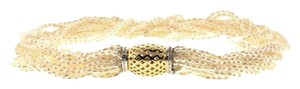 Other STEAL - 14k gold & diamond pearl choker