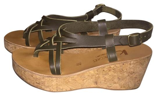 Preload https://item4.tradesy.com/images/k-jacques-green-coclico-wedges-size-us-75-regular-m-b-15703738-0-1.jpg?width=440&height=440