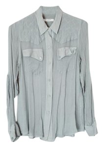 Equipment Button Down Shirt Light powder blue