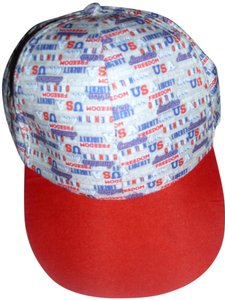 Patriotic Adorable USA patriotic memorial day July Fourth independence day holiday red white blue baseball cap summer beach hat