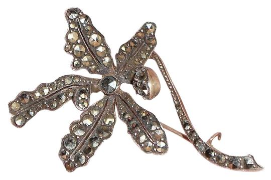 Other Vintage Marcasite Pin, Stamped Germany Sterling 2
