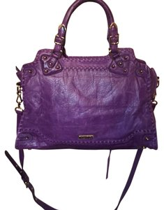 Rebecca Minkoff Mothers Day Doctor Satchel in Purple