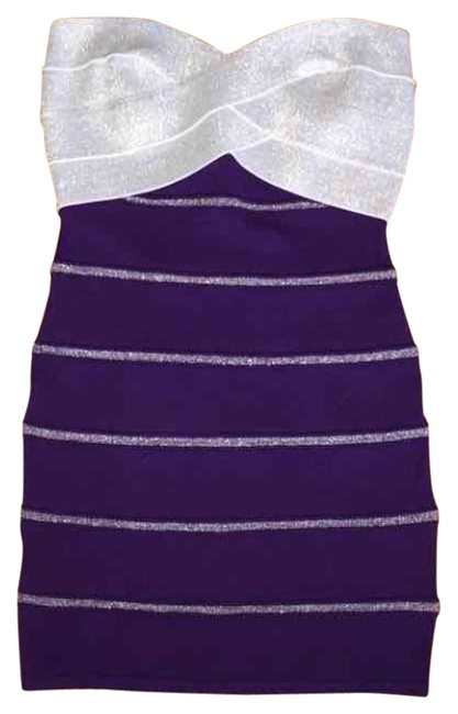 Preload https://item1.tradesy.com/images/hot-miami-styles-purple-silver-mini-night-out-dress-size-8-m-15704530-0-1.jpg?width=400&height=650