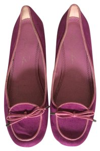 Marc Fisher Fuschia Flats