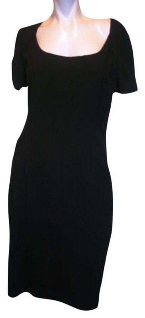 Preload https://img-static.tradesy.com/item/15705001/elie-tahari-black-above-knee-workoffice-dress-size-8-m-0-1-650-650.jpg
