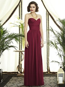 Dessy Burgundy Dessy Collection Style 2920 Dress