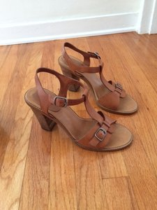 Madewell Leather Camel Sandals