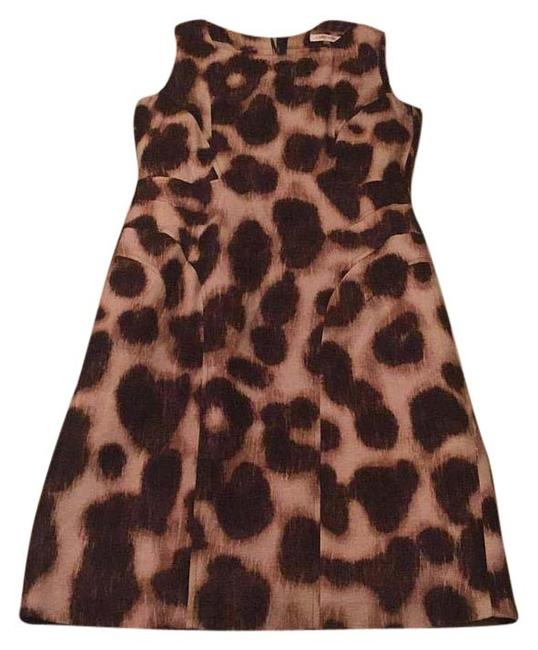 Preload https://item5.tradesy.com/images/calvin-klein-brown-and-tan-knee-length-workoffice-dress-size-4-s-15705424-0-1.jpg?width=400&height=650