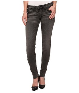 True Religion Skinny Black Skinny Jeans-Dark Rinse