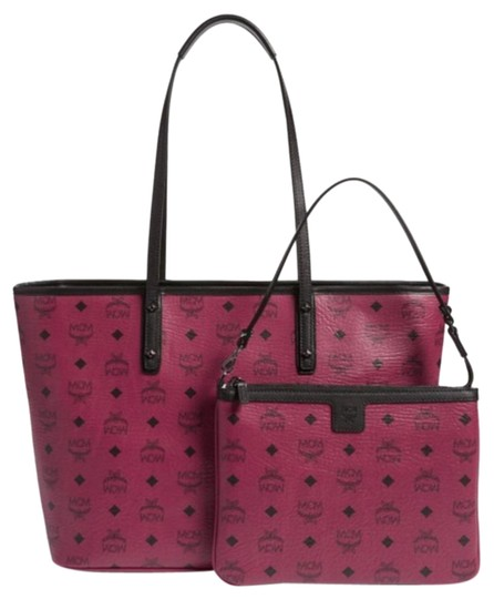Preload https://item1.tradesy.com/images/mcm-anya-medium-scooter-red-canvasleather-tote-15705490-0-3.jpg?width=440&height=440