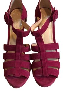 Cole Haan Winery suede Platforms