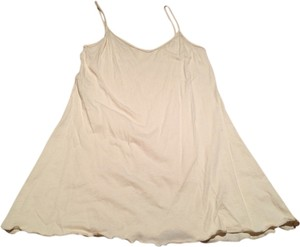 American Apparel short dress Tan Under Slip Basic Mini Beige Brown Light Skin on Tradesy