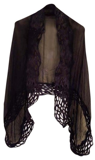 J. Hill Nune Felt Lace Wrap