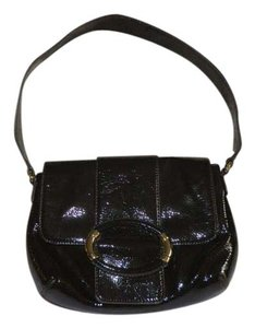Ann Taylor Leather Flap Snap Shoulder Bag