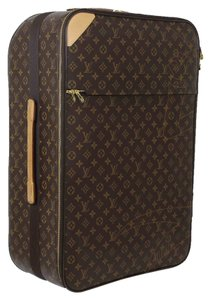 Louis Vuitton Pegasus Rolling Luggage Suitcase Monogram Travel Bag