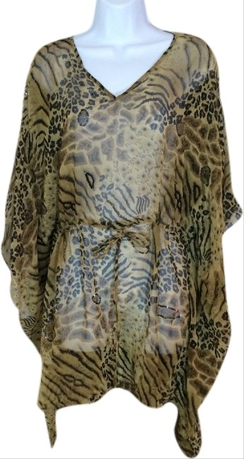 Niva by Embex Animal printed Swimsuit Cover-up.