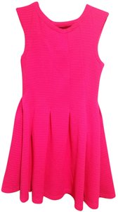 Hot & Delicious short dress Hot pink on Tradesy