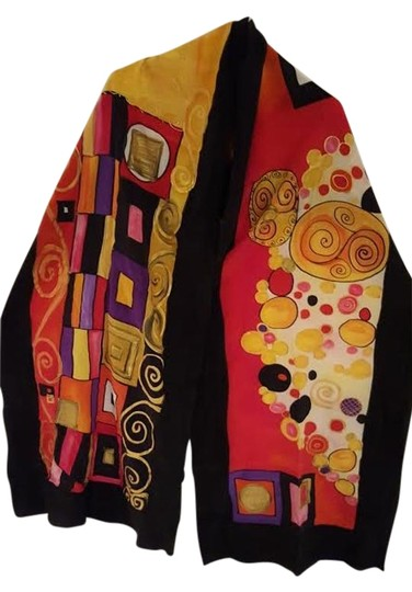 Preload https://item5.tradesy.com/images/multicolor-hand-painted-scarfwrap-15706324-0-1.jpg?width=440&height=440