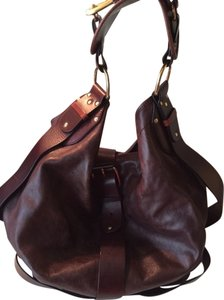 Chloé Vintage Studded Leather Hobo Shoulder Bag