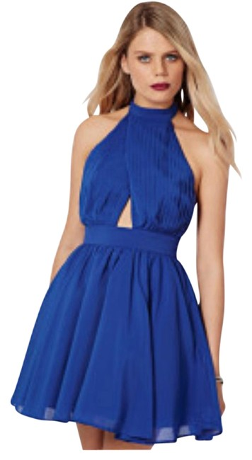 Preload https://img-static.tradesy.com/item/15706348/missguided-cobalt-blue-backless-puffball-skater-short-cocktail-dress-size-6-s-0-1-650-650.jpg