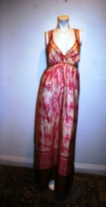 MULTI COLOR Maxi Dress by Ann Taylor LOFT Maxi Silk