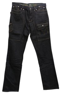 Dolce&Gabbana Pockets Dark Wash Straight Leg Jeans-Dark Rinse