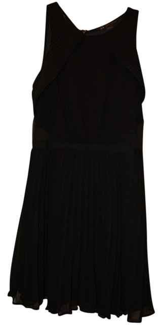 Preload https://item4.tradesy.com/images/ax-armani-exchange-black-in-good-condition-pleated-bottom-short-cocktail-dress-size-2-xs-15706963-0-1.jpg?width=400&height=650