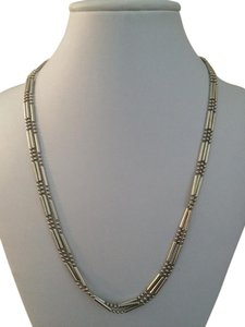 Other Triple Strand Sterling Silver Necklace