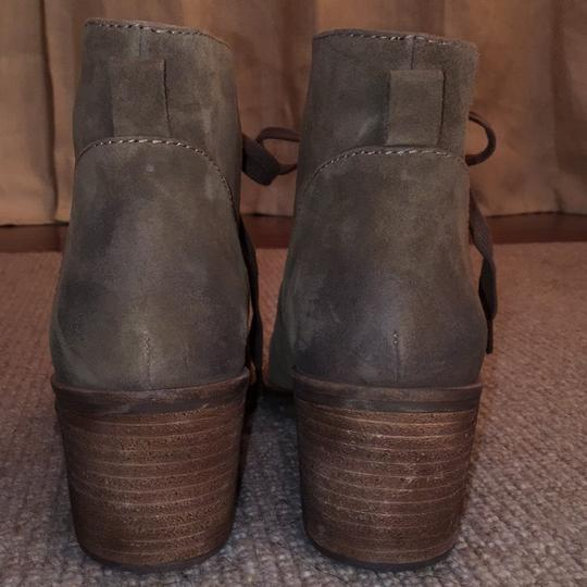 Biala Distressed natural tan suede Boots