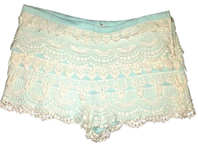 Preload https://item5.tradesy.com/images/lush-ivory-and-blue-romantic-cochet-size-12-l-32-33-15707284-0-1.jpg?width=400&height=650