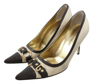 Dolce&Gabbana Dolce & Gabbana Heels Buckle Brown and Tan Pumps