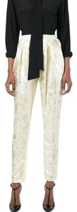 Stella McCartney Shimmer Jacquard Gold Pants