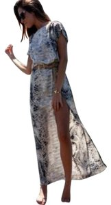 Snakeskin Maxi Dress by Zara