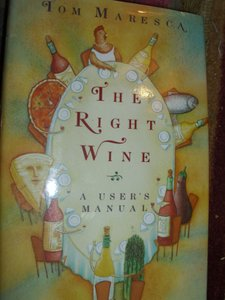 A User's Manual To The Right Wine Hard Cover Book By Tom Maresca Bridal Wedding Gift Entertaining Fine Dining
