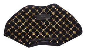 Alexander McQueen Studded Embellished Black Clutch