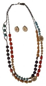 Coldwater Creek Coldwater Creek multi-color stone necklace