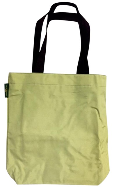 Item - Two Yellow/Lt Green Nylon Tote