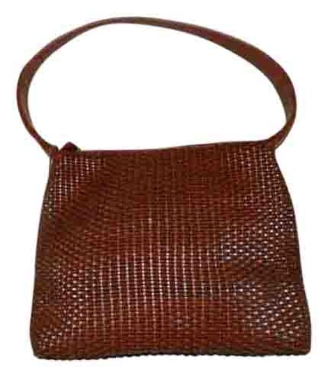 Preload https://img-static.tradesy.com/item/15708790/nine-west-woven-leather-look-brown-man-made-materials-shoulder-bag-0-1-540-540.jpg