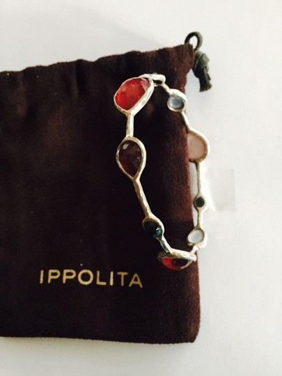 Ippolita STEAL - IPPOLITA Wonderland Sterling Silver Bangle Bracelet W Pocuh