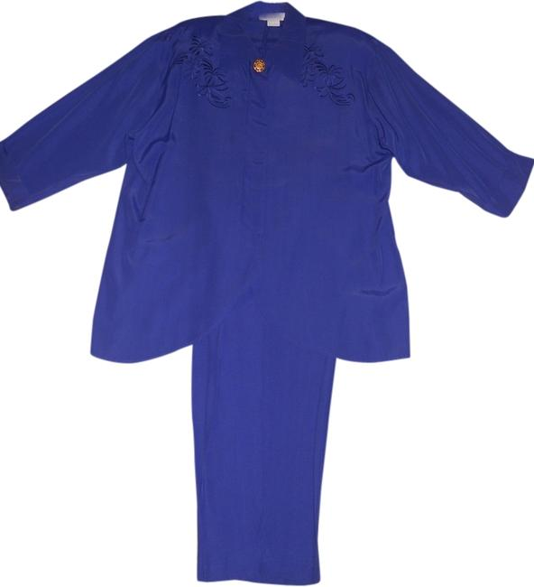 Other Petite Embroidered Pantsuit
