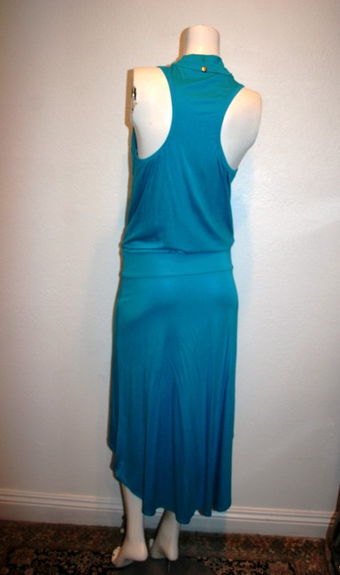 Trina Turk short dress BLUE on Tradesy