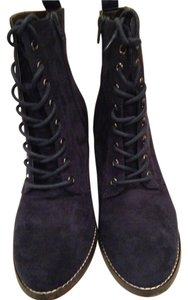 Candie's Navy Suede Boots