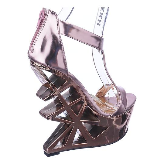 Privileged Copper Sandals