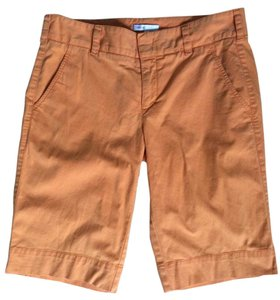Vince Summer Bermuda Shorts Orange