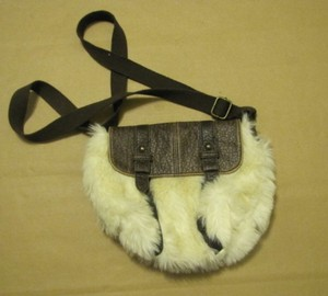 American Eagle Outfitters Purse Fur Hobo Bag